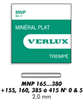 MNP VERRE MINERAL PLAT  EP  2 MM