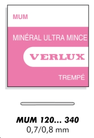 MUM VERRE MINERAL ULTRA MINCE EP 0.8 MM