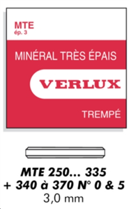 VERRE MTE MINERAL   EP/ 3 MM